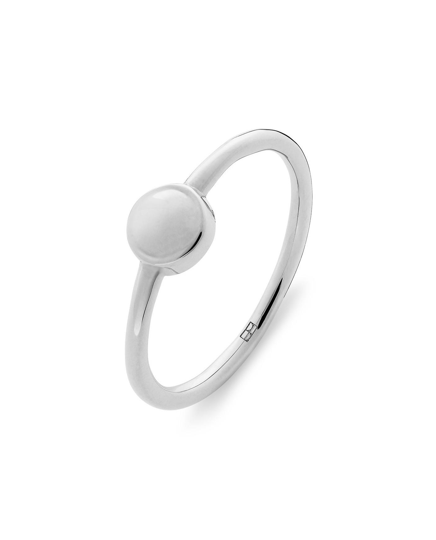 Pearl Srebrny Pierścionek N°22