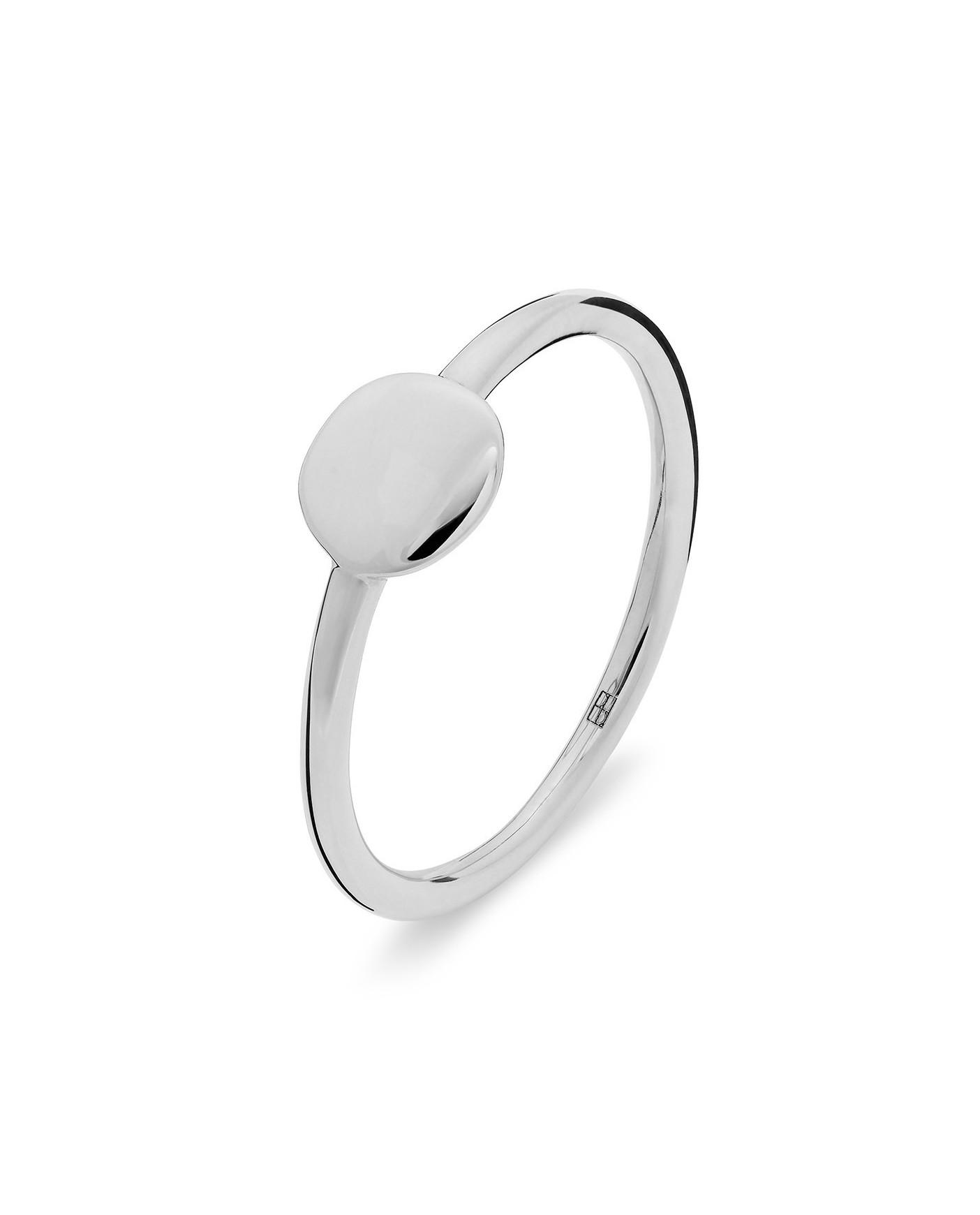 Pearl Srebrny Pierścionek N°24