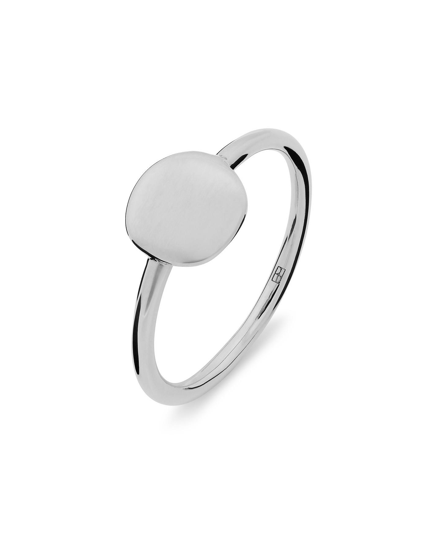 Pearl Srebrny Pierścionek N°25