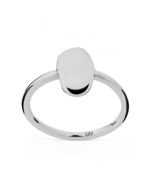 Pearl Srebrny Pierścionek N°27