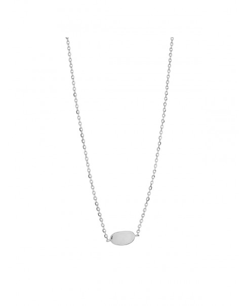 Pearl Silver Necklace N°35