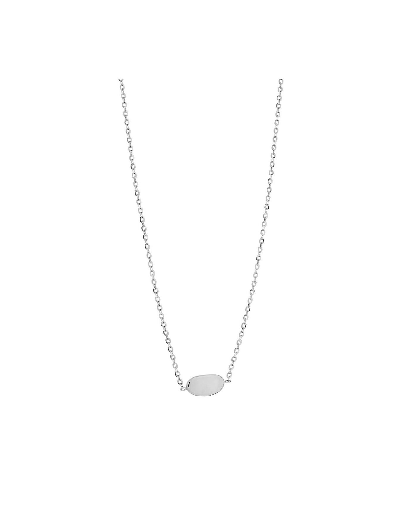 Pearl Srebrny Naszyjnik N°35