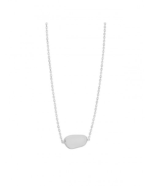 Pearl Silver Necklace N°36