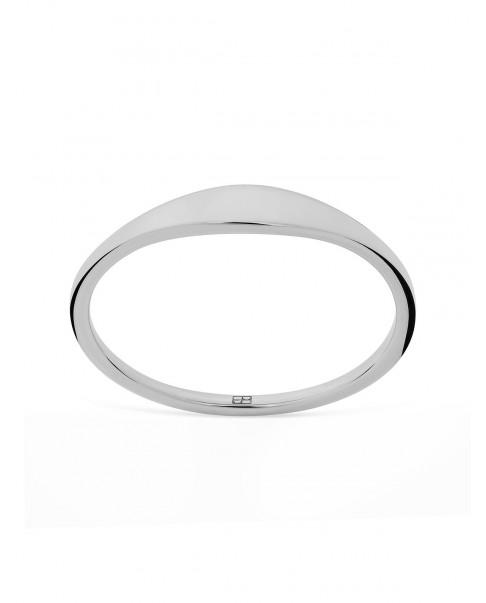 Raw Silver Ring N°49