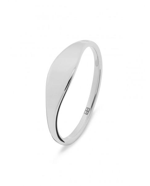 Raw Silver Ring N°50
