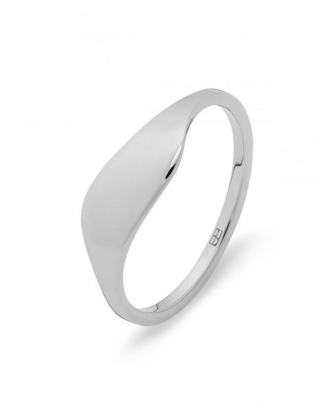 Raw Silver Ring N°52