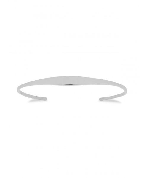 Raw Silver Bracelet N°53
