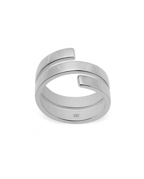 Angle Silver Ring N°3