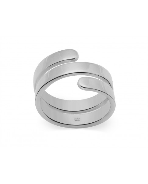 Angle Silver Ring N°4