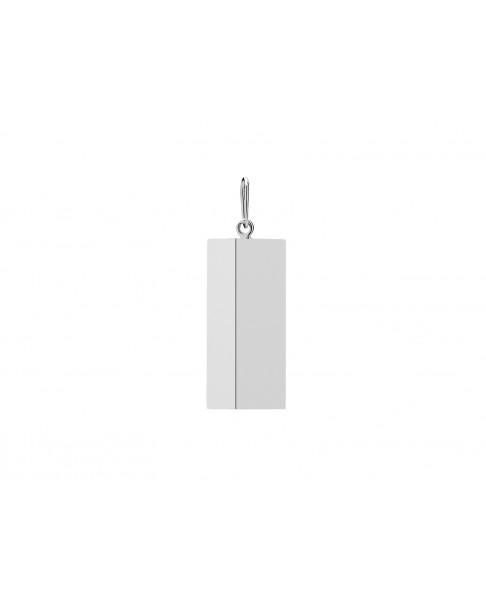 Angle Silver Pendant N°14