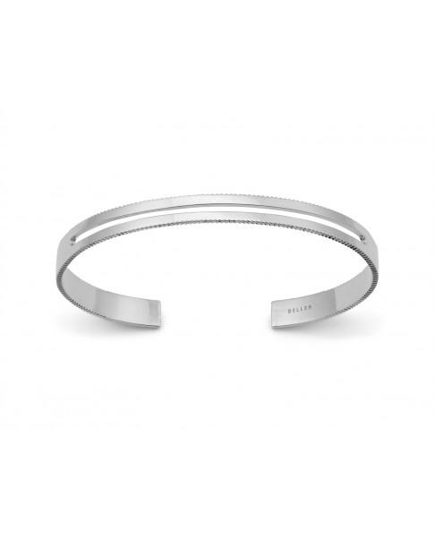Angle Silver Bracelet N°25
