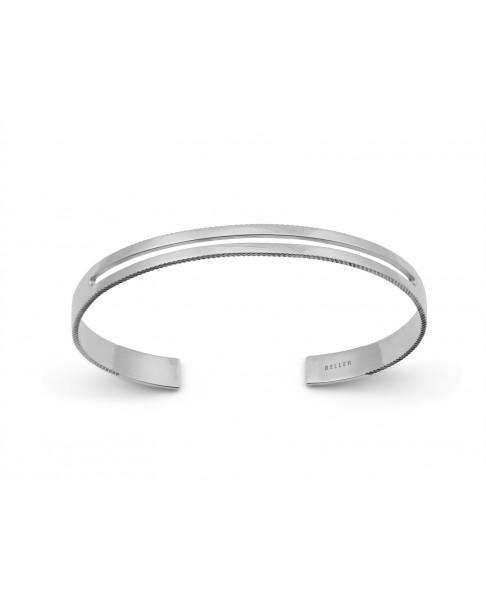Angle Silver Bracelet N°26