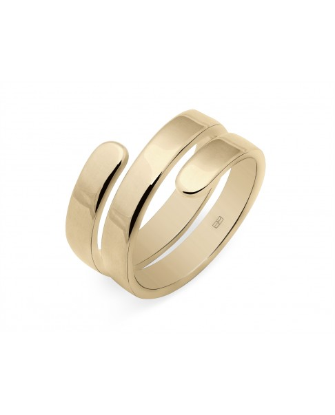 Angle Gold Ring N°34