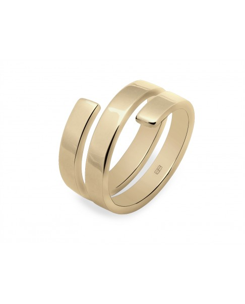 Angle Gold Ring N°33