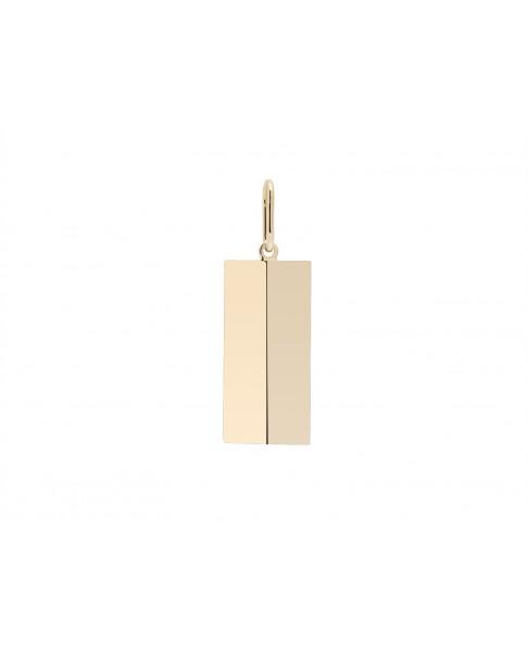 Angle Gold Pendant N°43