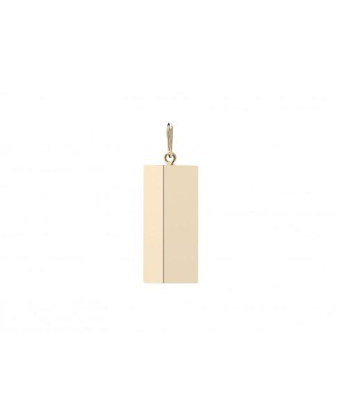 Angle Gold Pendant N°44