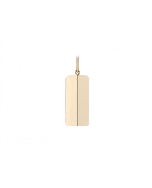 Angle Gold Pendant N°45