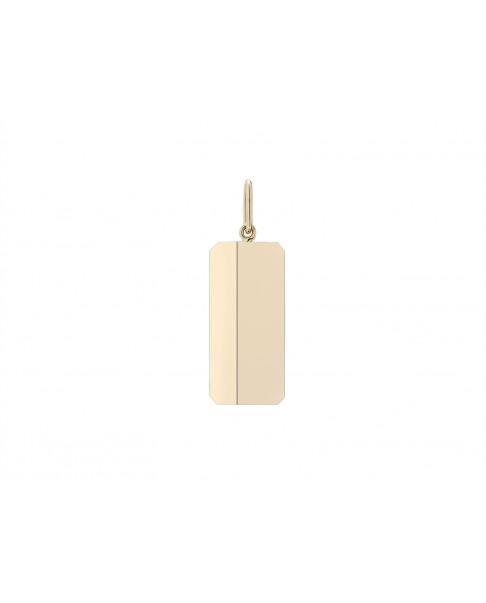 Angle Gold Pendant N°46