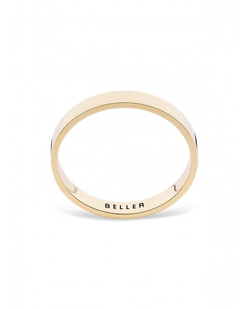 Geometric Gold Wedding Band N°21