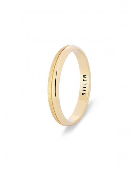 Classic Gold Wedding Band N°96