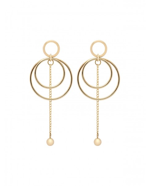 Twirl Gold Earrings N°20