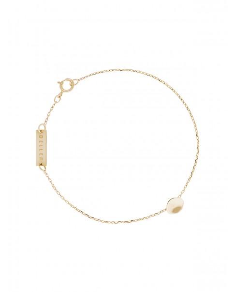 Raw Gold Bracelet N°42