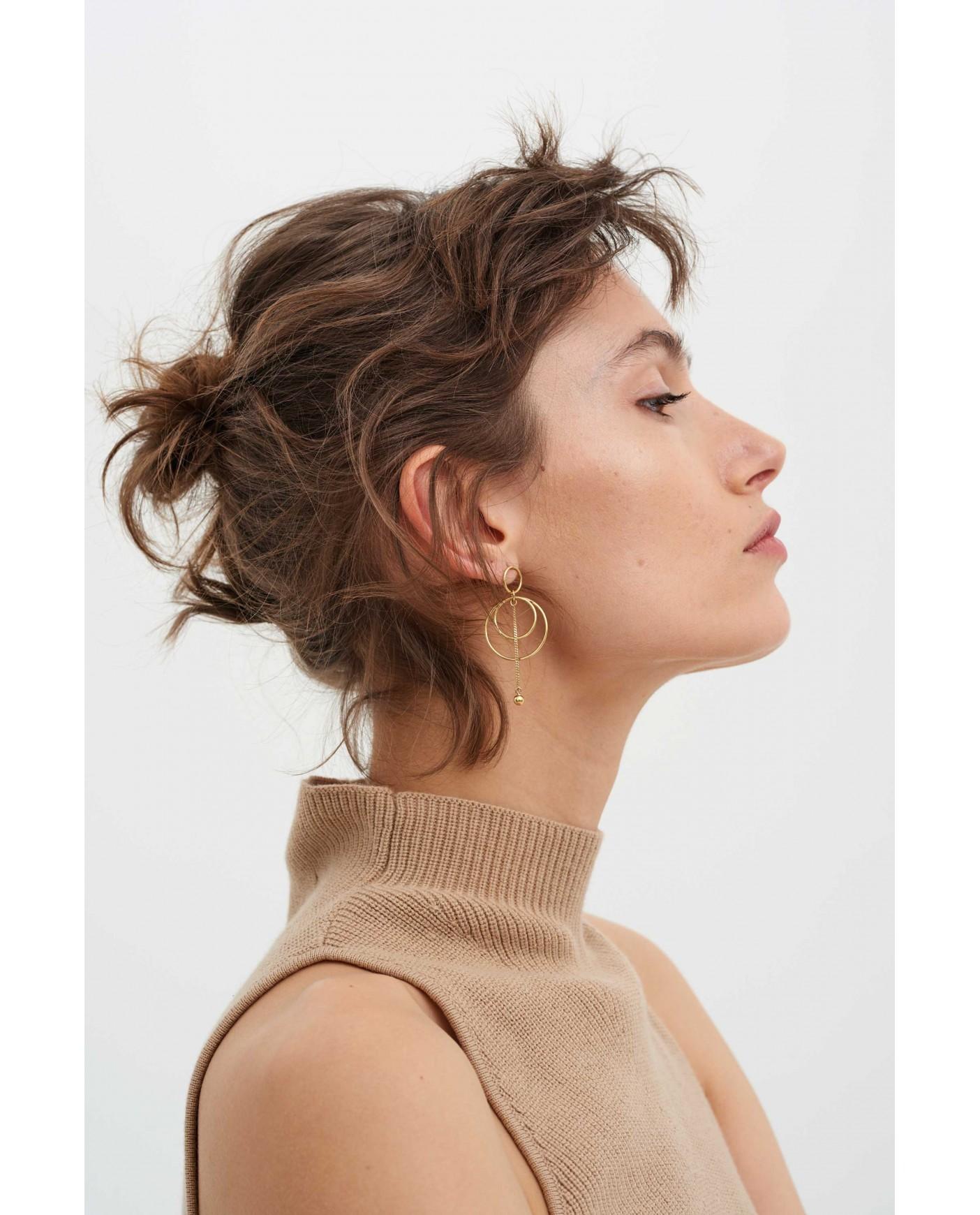 Twirl Gold Earrings N°20