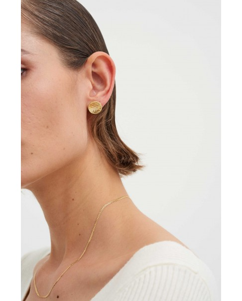 Raw Gold Earrings N°29