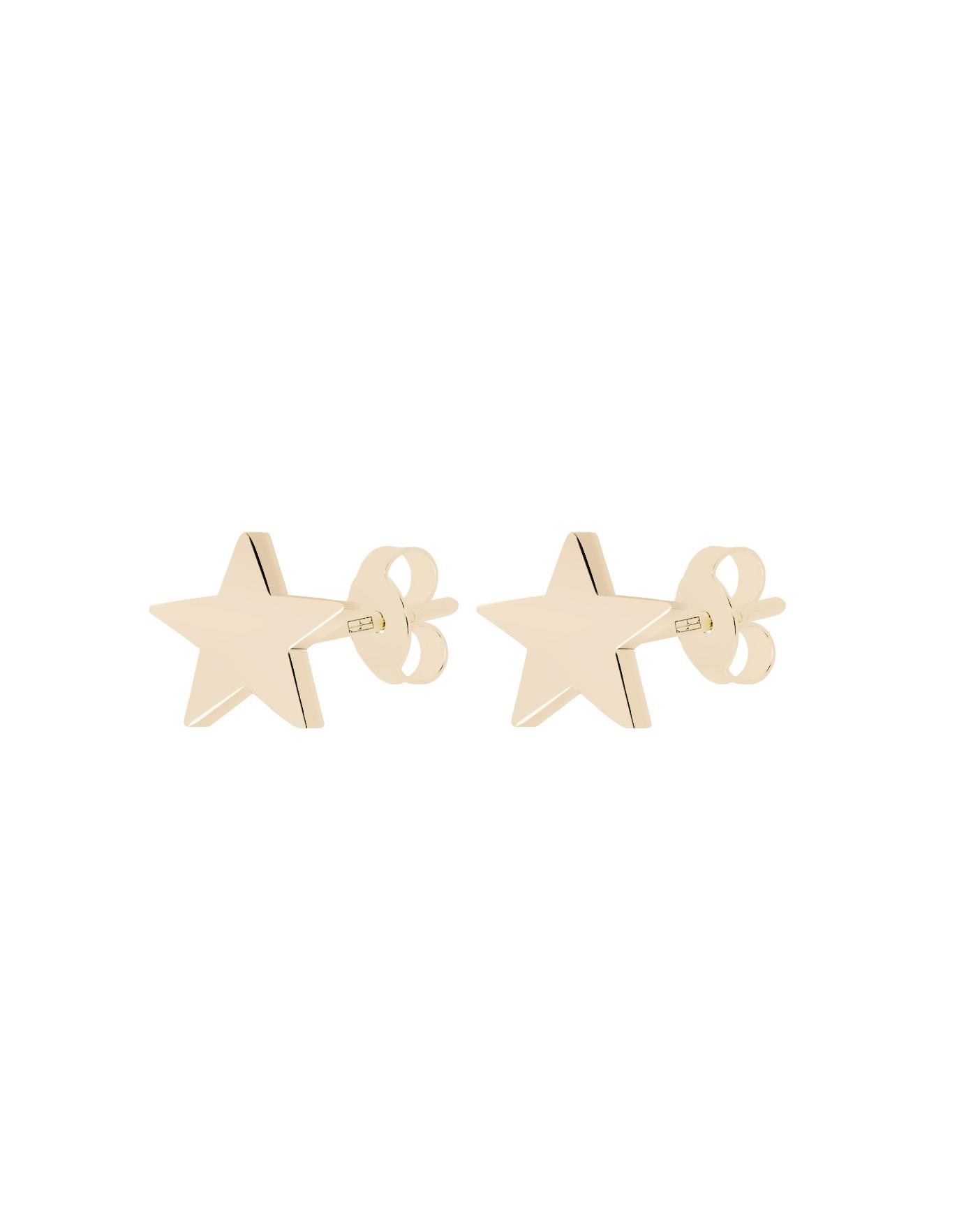 Classic Gold Earrings N°29