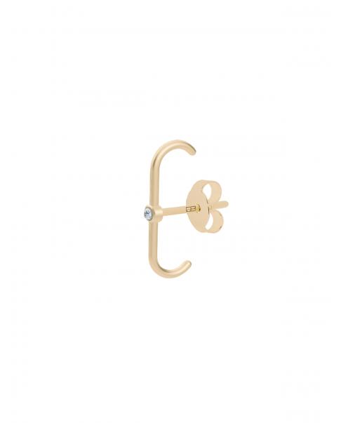 Classic Złoty Kolczyk N°36