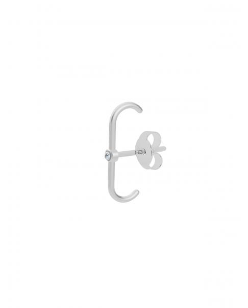 Classic Srebrny Kolczyk N°36