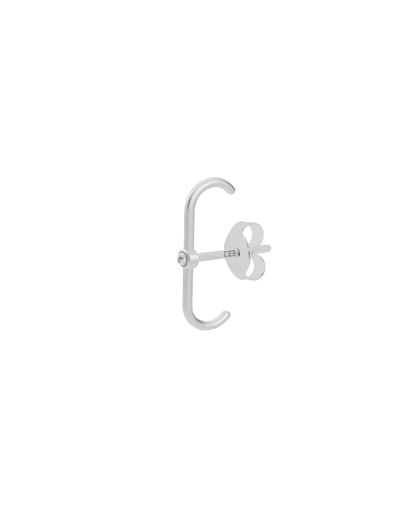 Classic Silver Earring N°36