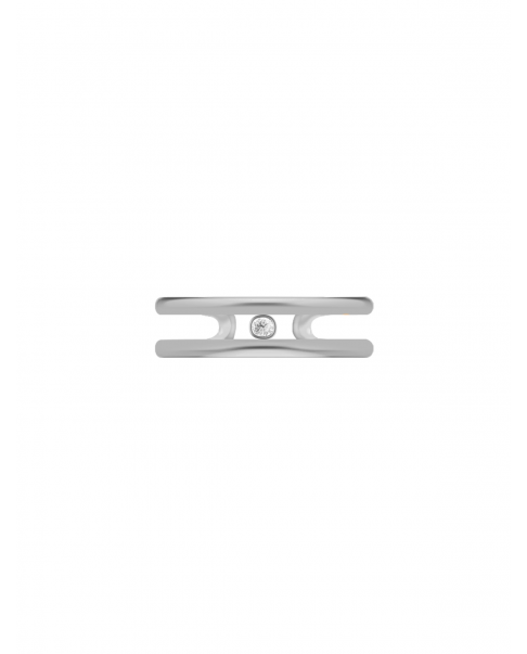 Classic Silver Ear Cuff N°33