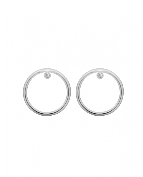 Classic Silver Earrings N°32