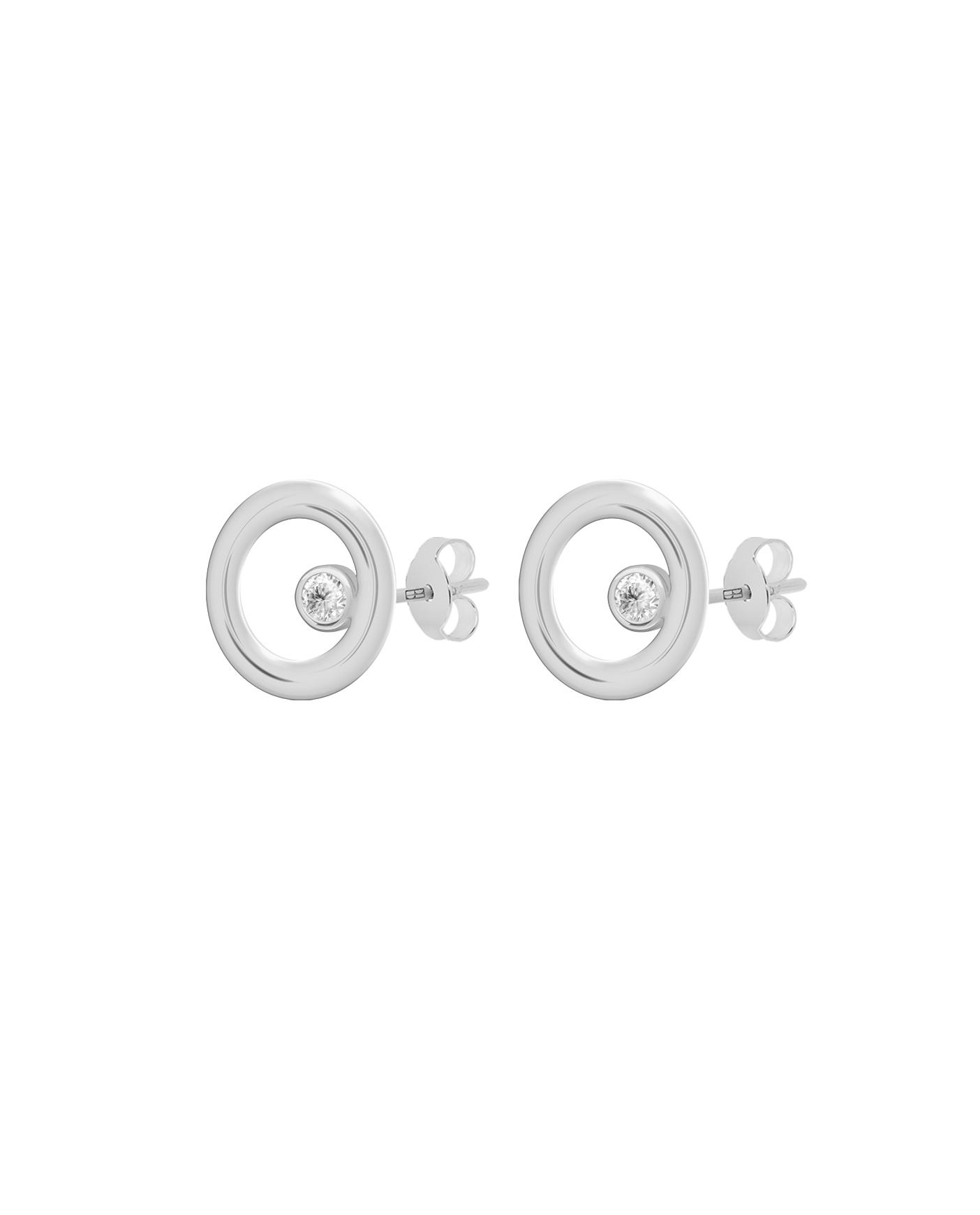 Classic Silver Earrings N°31