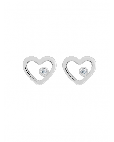 Classic Silver Earrings N°30