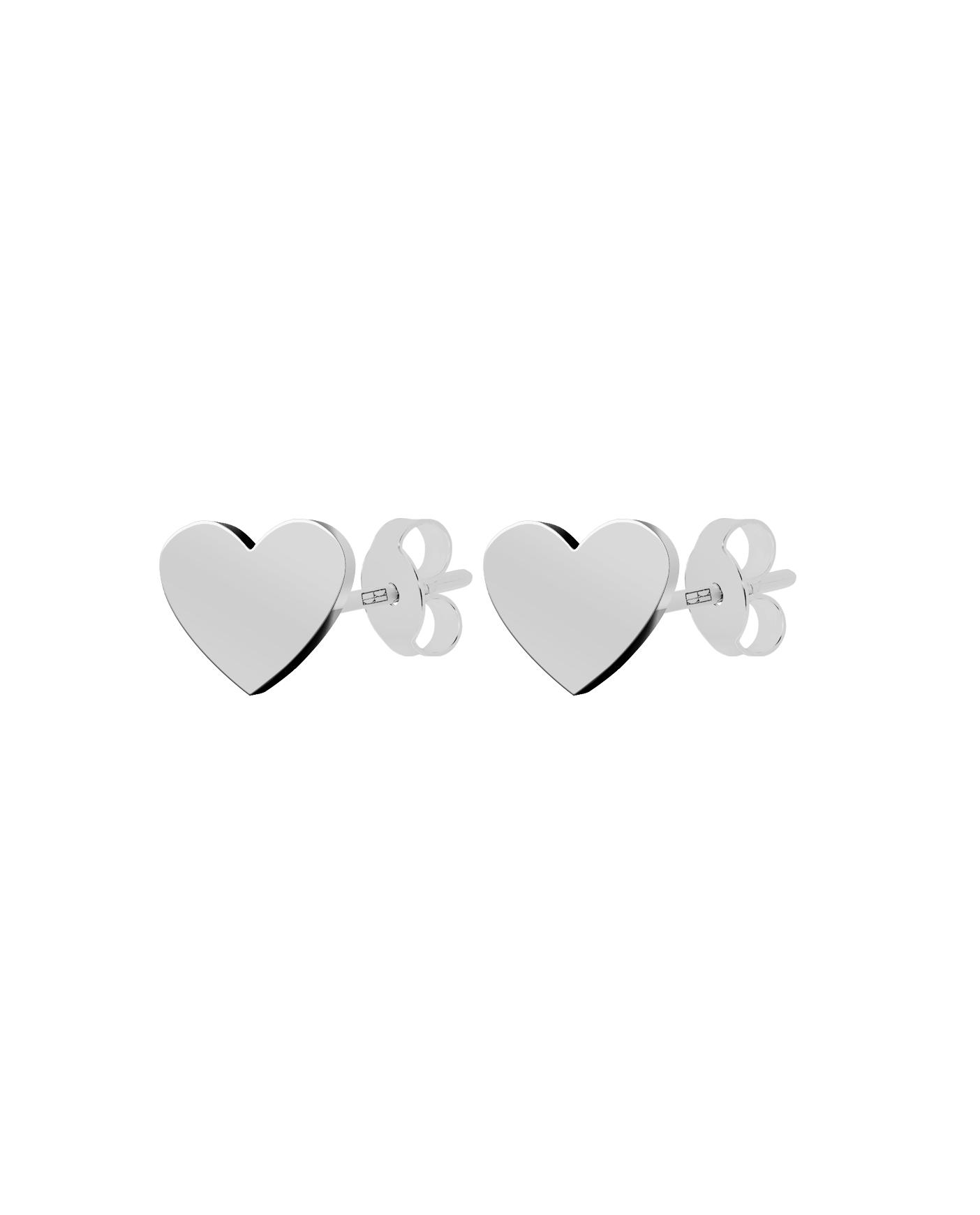 Classic Silver Earrings N°26