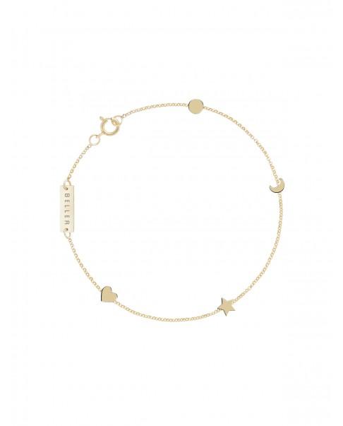 Classic Gold Bracelet N°13