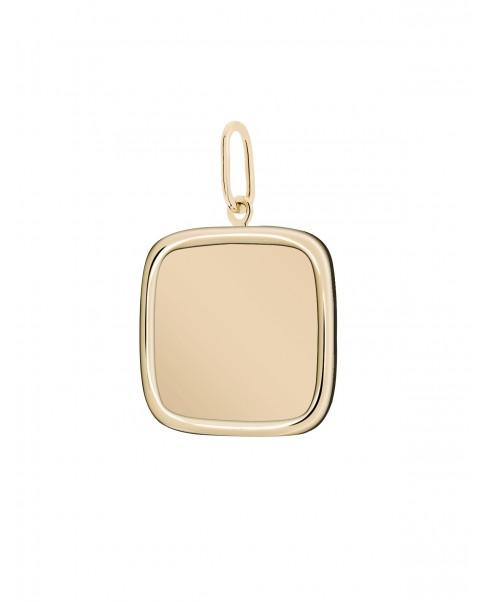 Classic Gold Pendant N°25