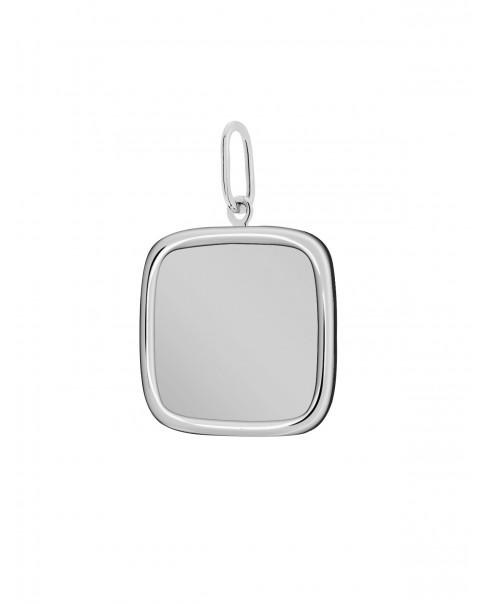 Classic Silver Pendant N°25