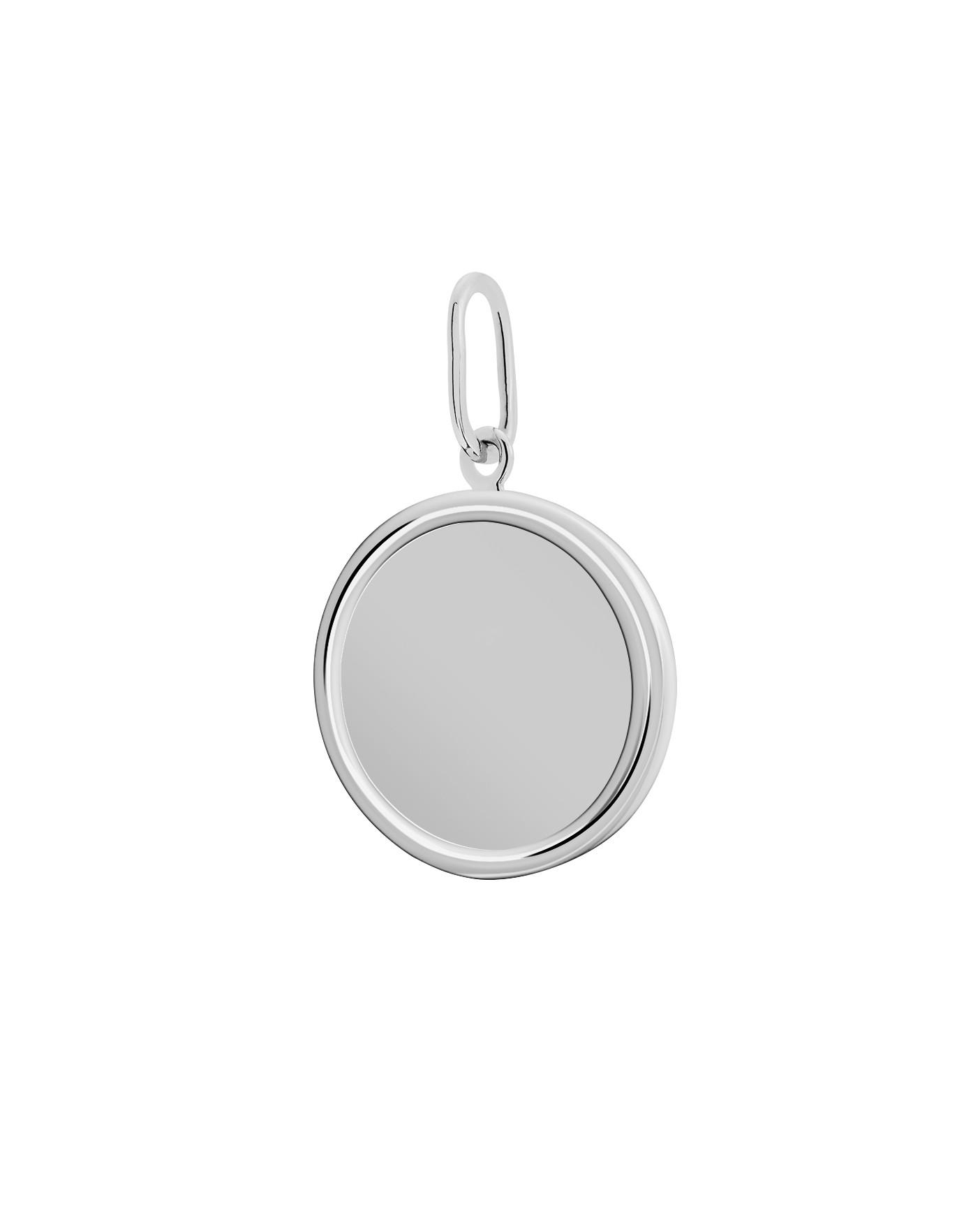 Classic Silver Pendant N°23
