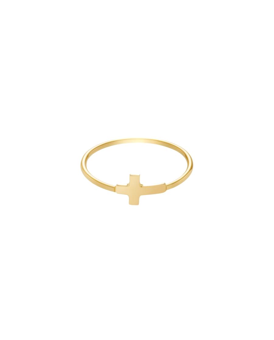 Classic Złoty Pierścionek N° 10
