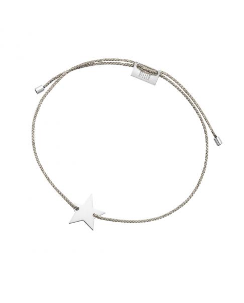 Silver String Bracelet