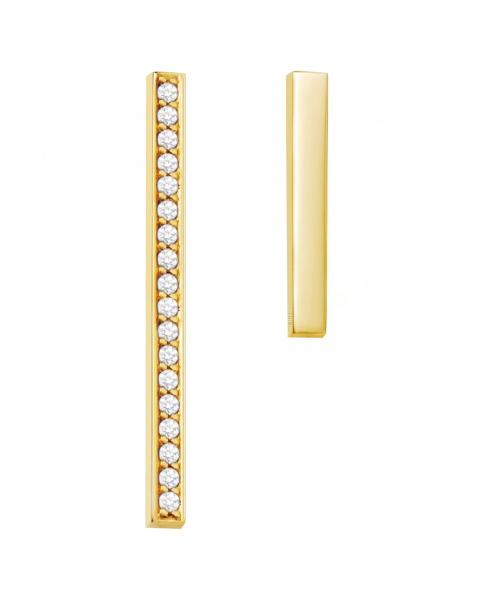 Diamond Gold Earrings No° 4