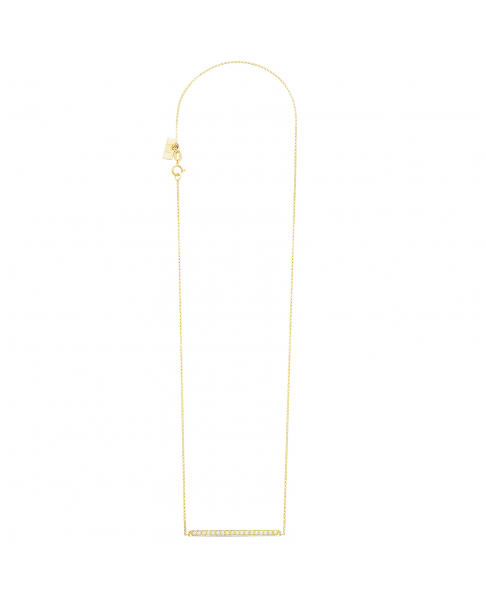 Diamond Gold Necklace N°7