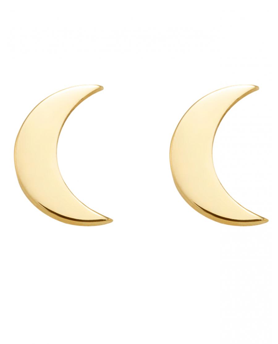 Moonlight Złote Kolczyki No1