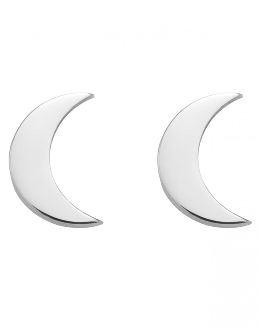 Moonlight Srebrne Kolczyki No 1