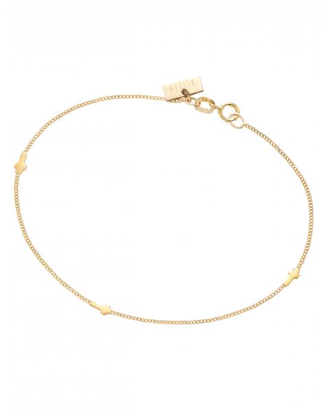 Guns'n'Roses Gold Bracelet N° 1
