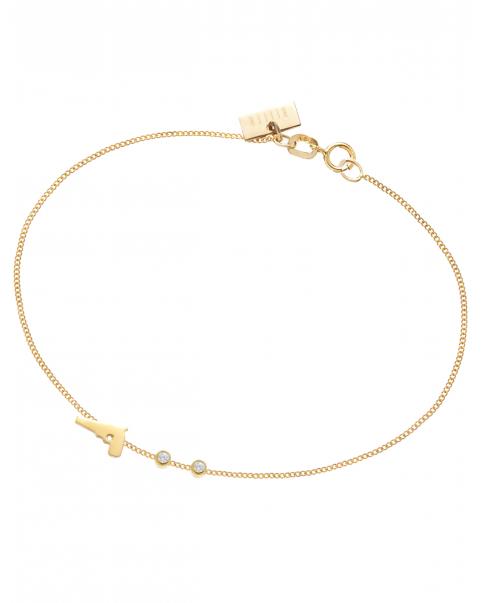 Guns'n'Roses Gold Bracelet N° 3