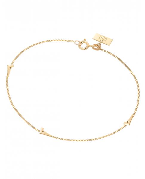 Guns'n'Roses Gold Bracelet N° 4